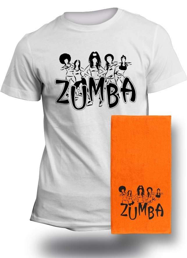 Zumba T & Towel Combo