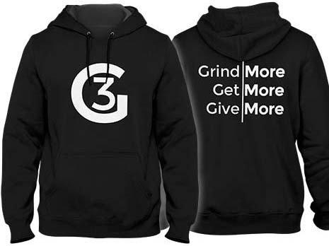 Grind | Get | Give Hoodie