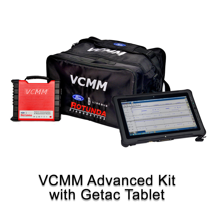 Ford IDS VCMM Advanced Diagnostic Dealer Tablet Getac F110 Package