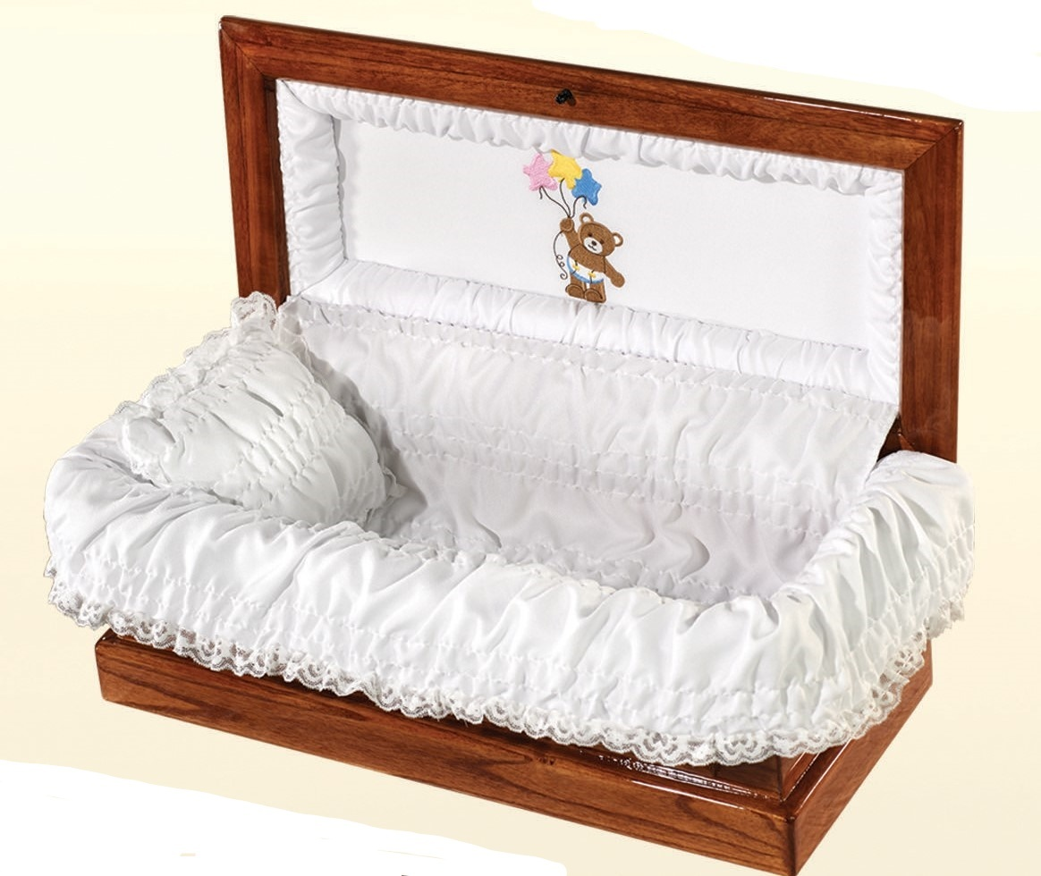 Wood Casket and Vault 3 Piece Combo (20 inch interior length)C-20-3combo