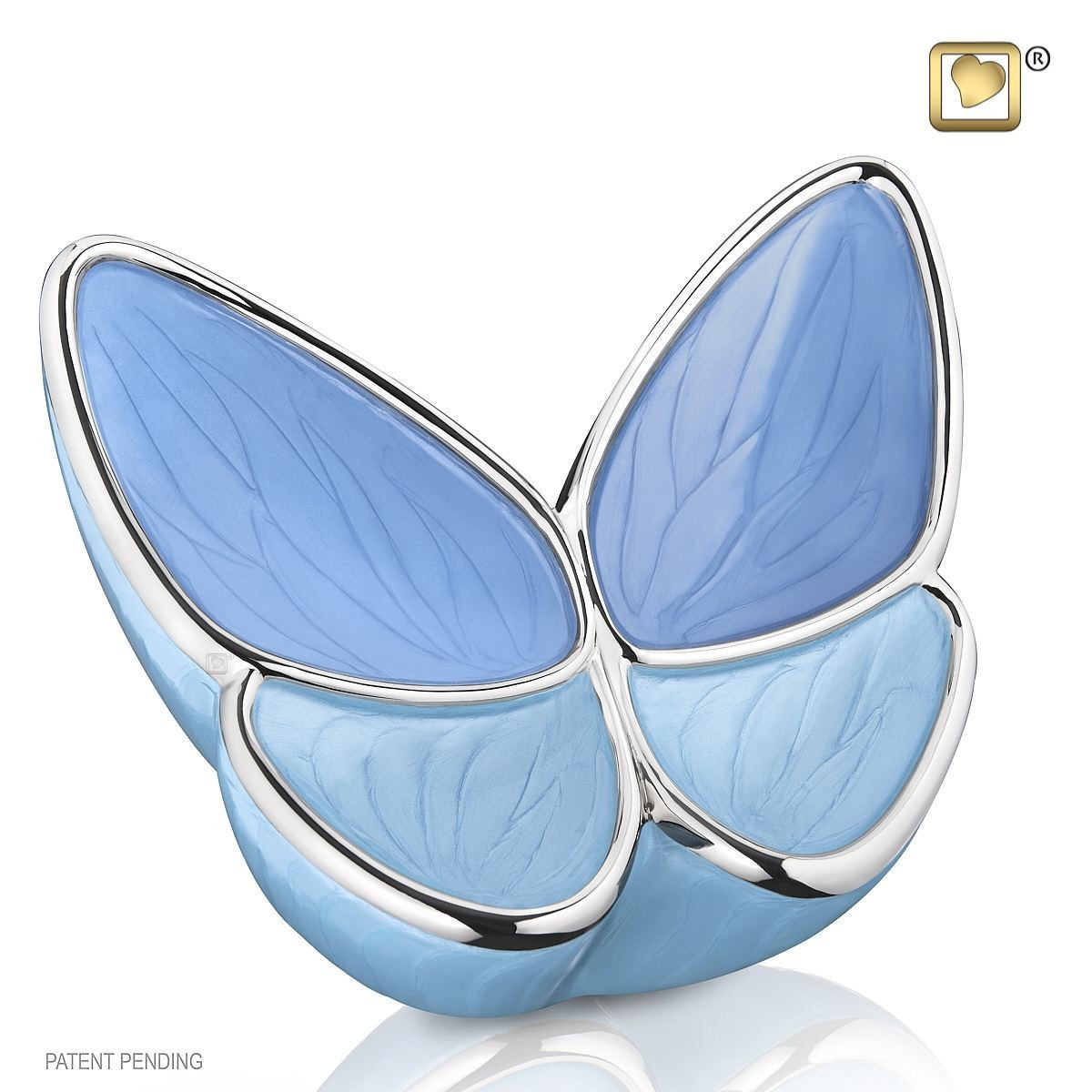 Butterfly Baby Urn in Blue