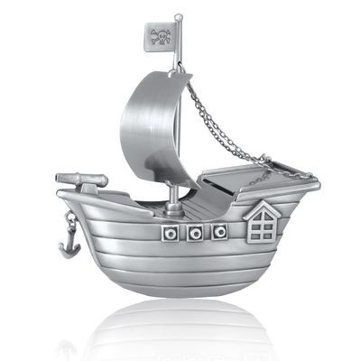 Pirate Ship Urn (Free Engraving and Shipping)