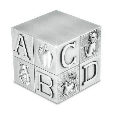 Baby Block Pewter Urn