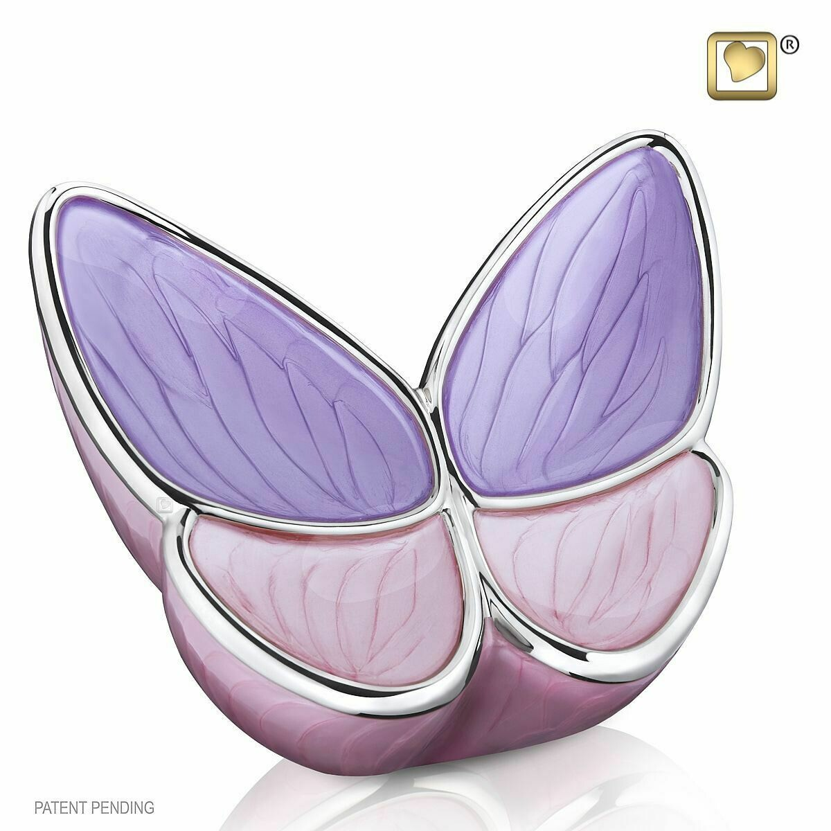 Butterfly Baby Urn in Pink and Purple (Wings of Hope-22 cubic inches)