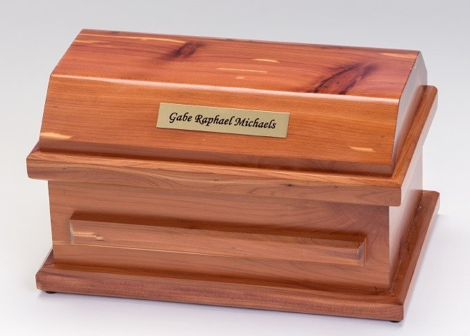 Cedar Miscarriage Casket (up to 19 weeks)     C-9-Ced 636225539591