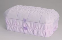 Cloth covered Preemie Casket (16 -21 inch interior)     C-16-21-Cloth 636225539867