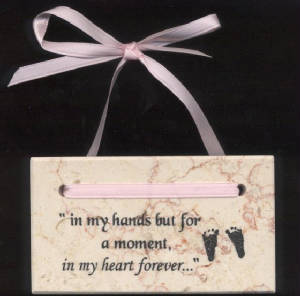 In My Heart Forever Plaque (footprint)     M-IMH-Foot 636225539928