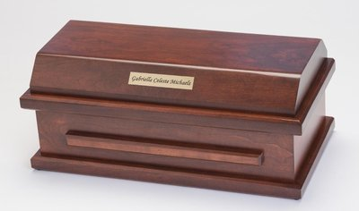 Cherry Preemie Baby Casket (for babies up to 27 weeks)     C-15-CH