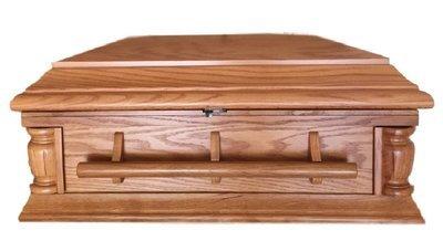 Oak Baby Casket (24 inch)    C-24-JB-Oak