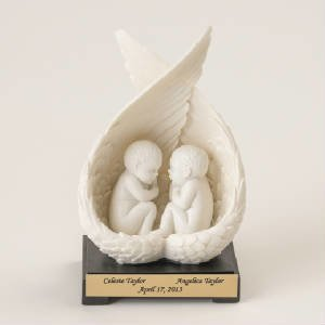 Twin Babies Statue  M-TW