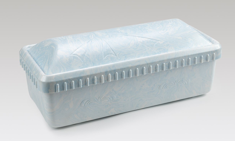 Serenity Casket/Vault combo 30 inch  (white, pink, or blue)   C-30-Ser