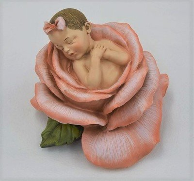 Baby Girl in Bloom urn (does NOT include cherry wood urn) U-BLM