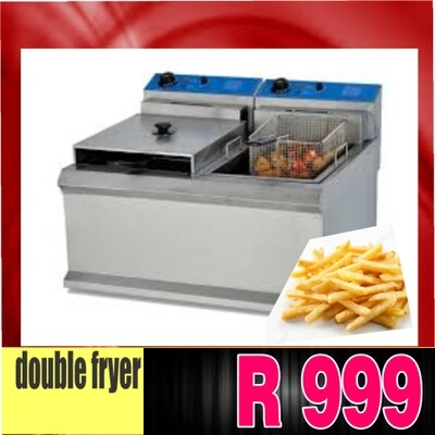 double chips fryer