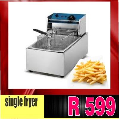 single  chips fryer