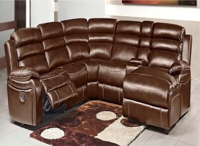 KING SIZE CORNER SUITE WITH RECLINER