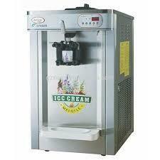 Ice cream machine table top one lever