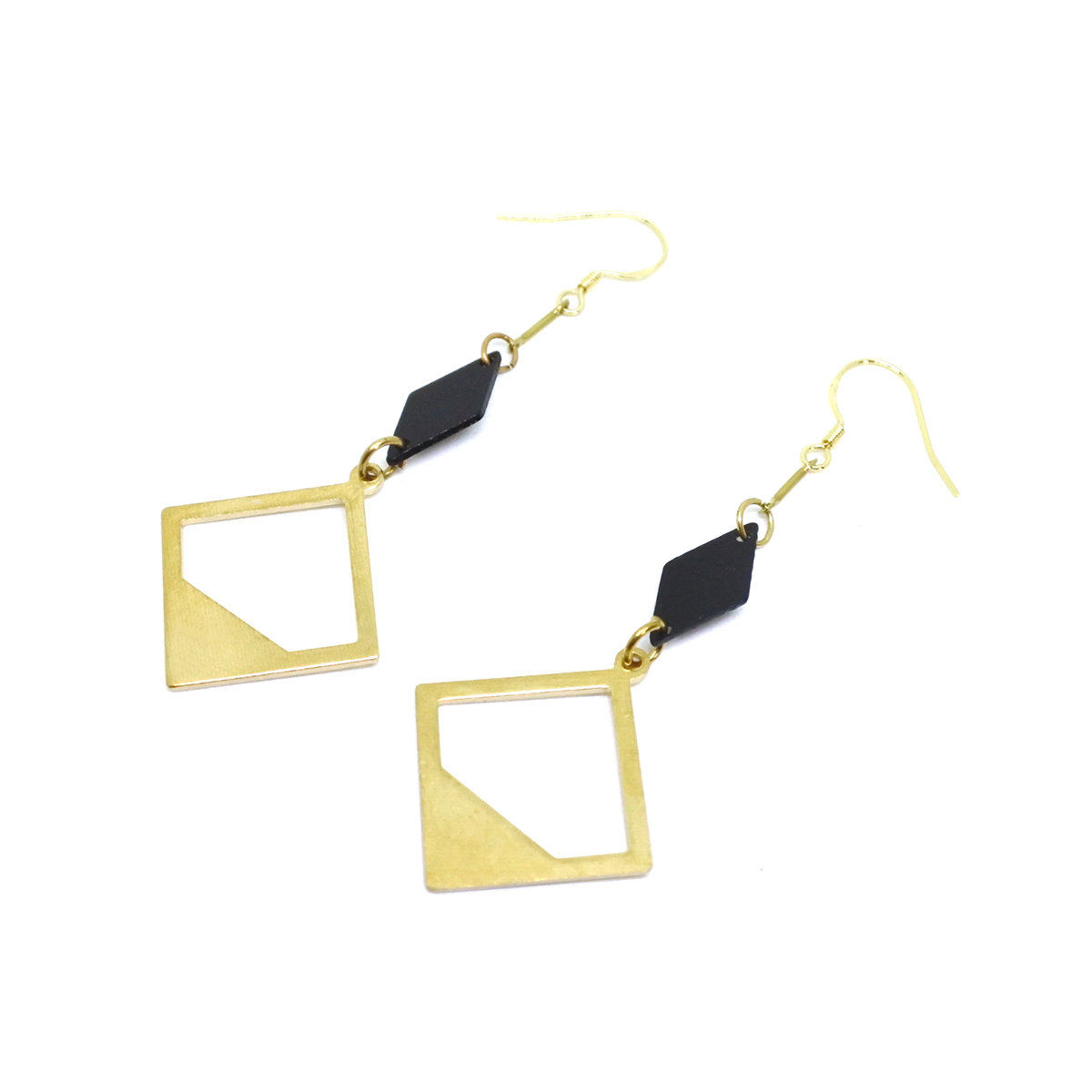 New Antique square earrings