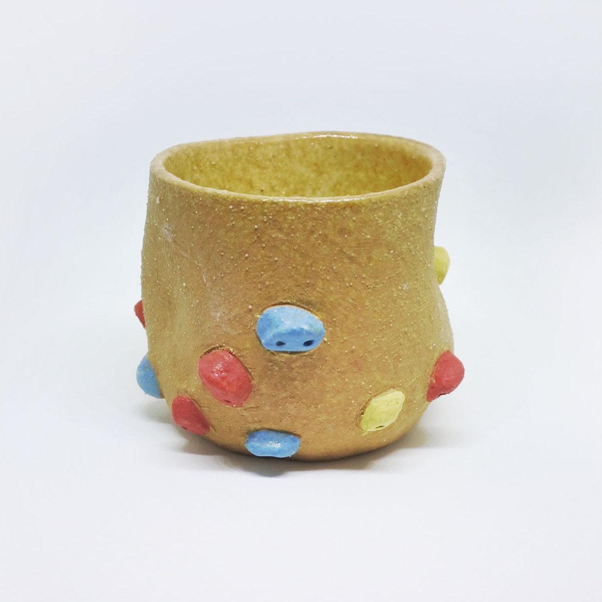Rock climber espresso cup