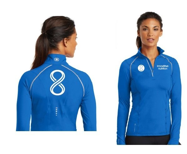 Blue Long Sleeve 1/4 Zip
