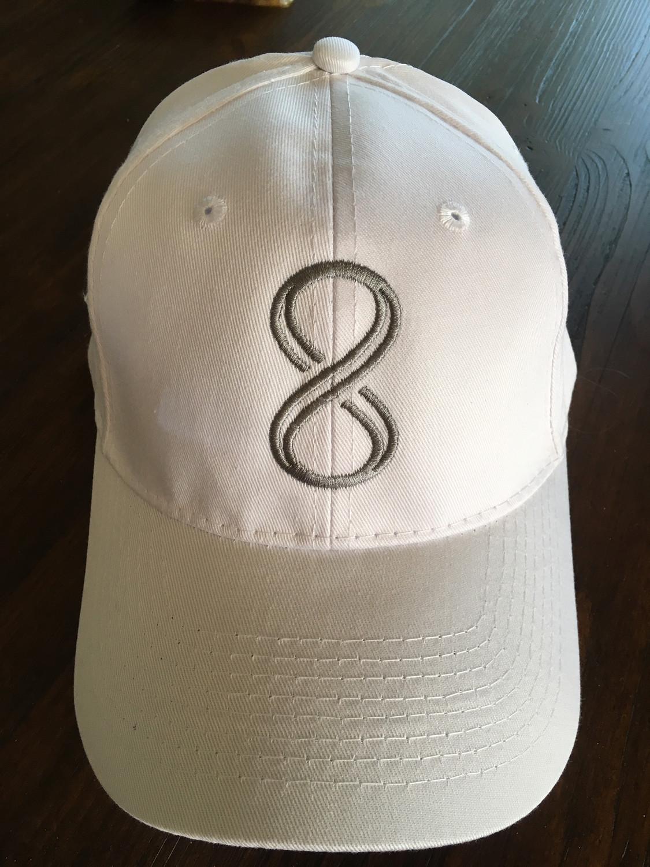 """""""8"""" Hat - White"""
