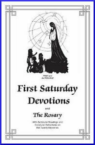 First Saturday Devotions - Pack of 25 Copies