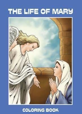 The Life of Mary Coloring Book - Five Copies
