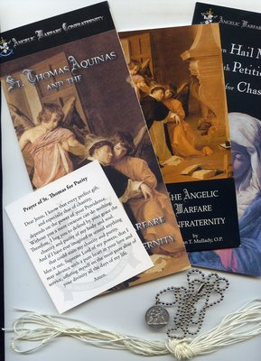 Angelic Warfare Confraternity Packet