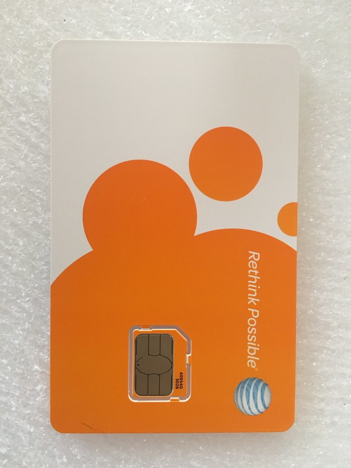Replacement AT&T Sim Card