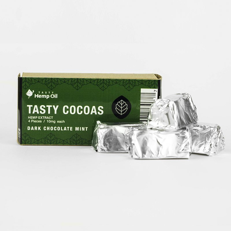 Tasty Hemp Oil- Tasty Cocoa's (10mg) Edibles