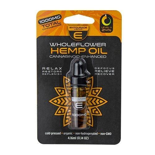 Entourage Wholeflower Hemp Oil