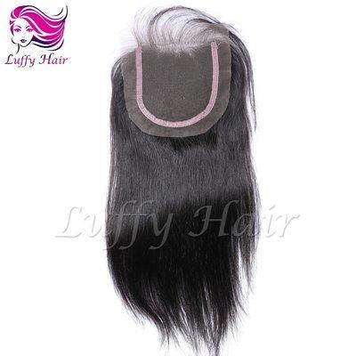 8A Virgin Human Hair 4x4 Silky Straight Lace Closure- KCL003