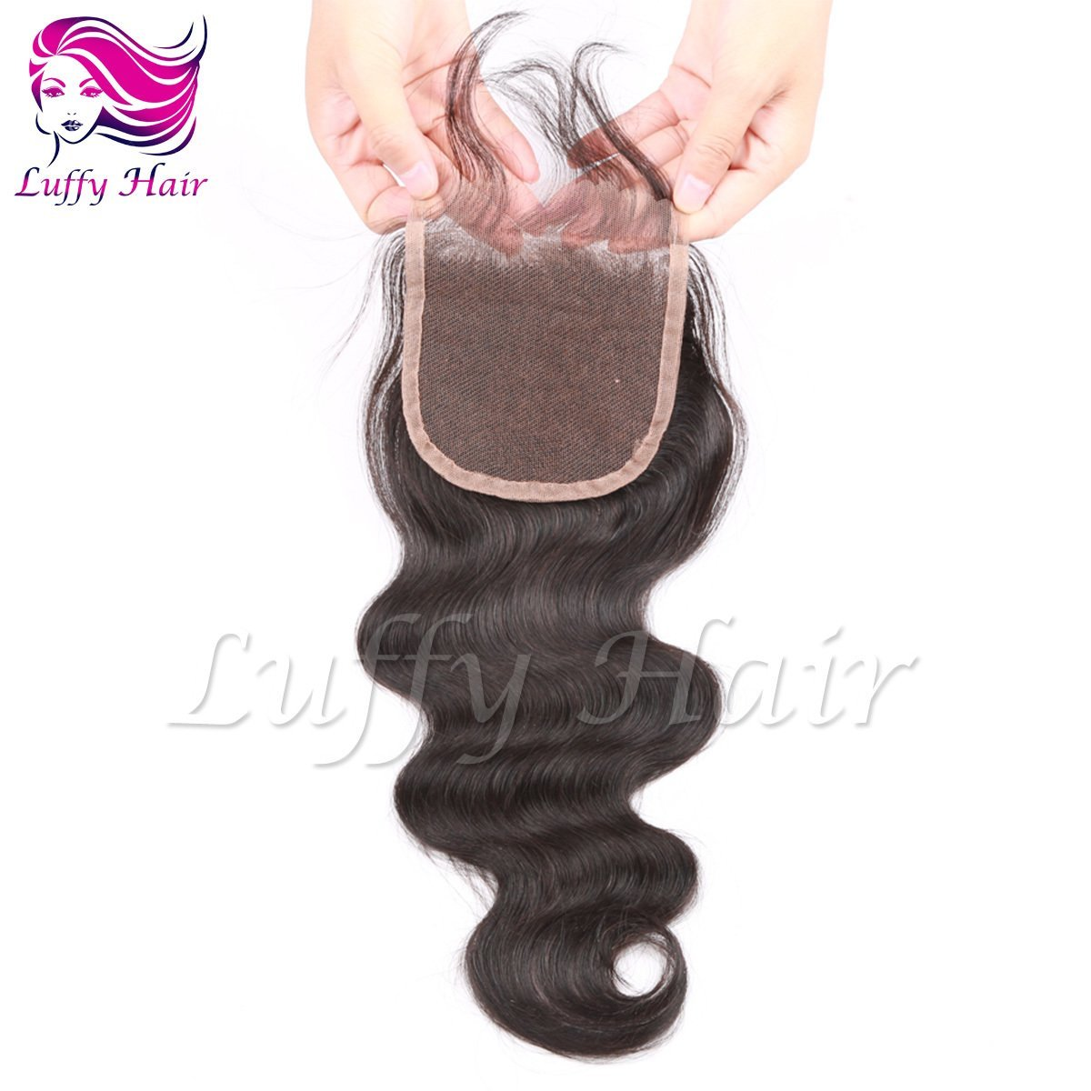8A Virgin Human Hair 4x4 Body Wave Lace Closure- KCL008