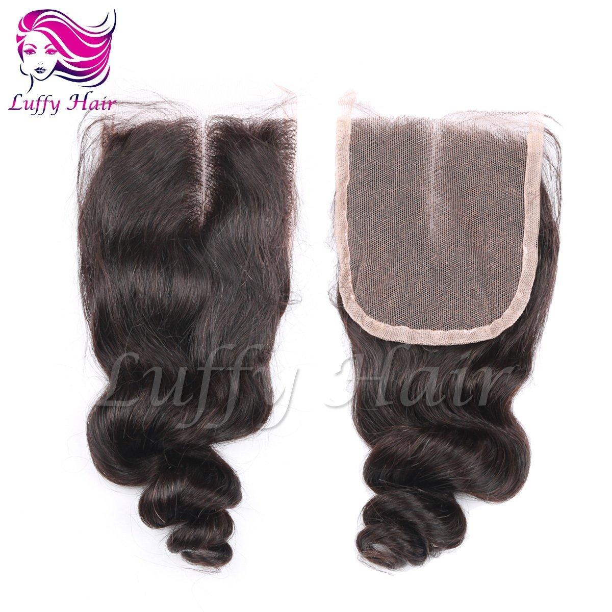 8A Virgin Human Hair 4x4 Body Wave 180% Density Lace Closure- KCL006
