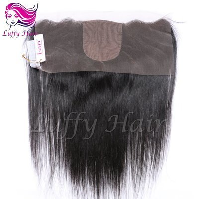 8A Virgin Human Hair 13x4 Silky Straight Lace Frontal With Silk Top - KCL002