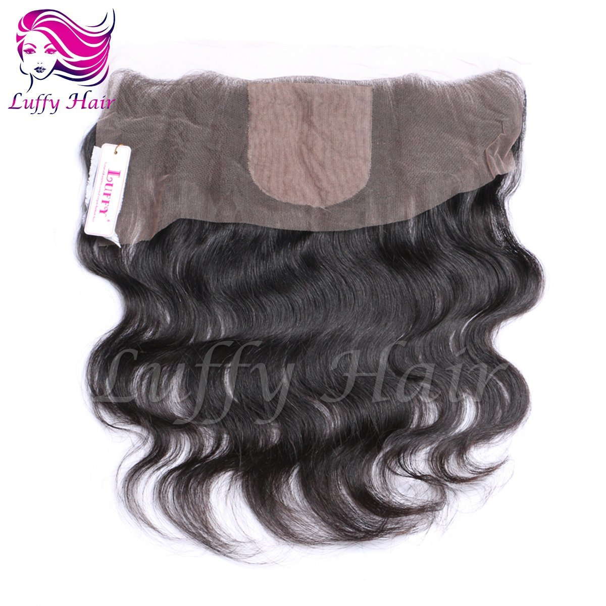 8A Virgin Human Hair 13x4 Body Wave Lace Frontal With Silk Top - KCL001