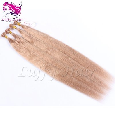 8A Virgin Human Hair Color#16 Silky Straight Fusion Hair Extensions - KFL003