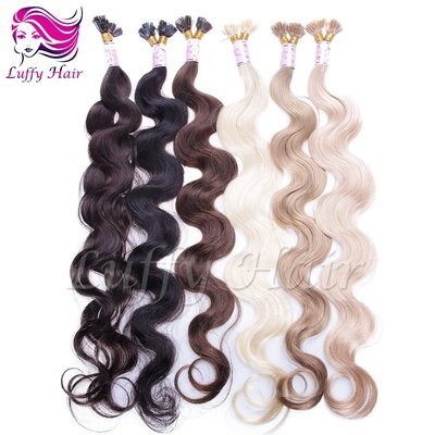 8A Virgin Human Hair Body Wave Fusion Hair Extensions - KFL008