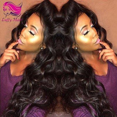 8A Virgin Human Hair 180% Density Body Wave Wig - KWL004