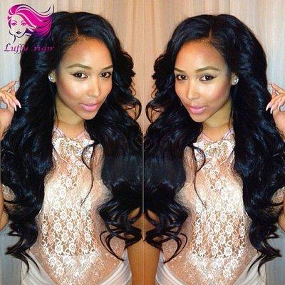 8A Virgin Human Hair Body Wave Wig - KWL030