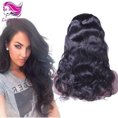 8A Virgin Human Hair Natural Wave Wig - KWL044C