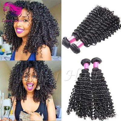 8A Virgin Human Hair Kinky Curly Hair Bundle - KEL009