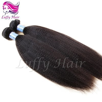 8A Virgin Human Hair Italian Light Yaki Straight Hair Bundle - KEL012