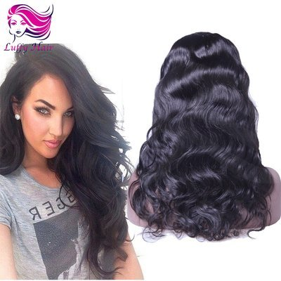 8A Virgin Human Hair Natural Wave U Part Wig - KWU008