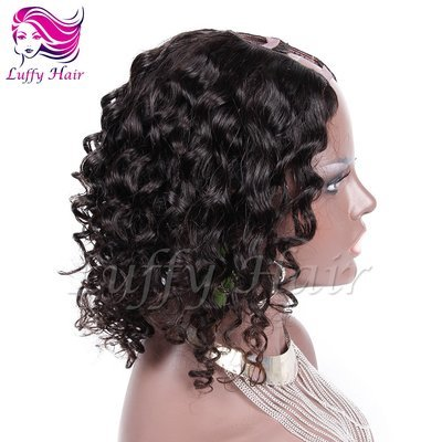 8A Virgin Human Hair Body Wave U Part Wig - KWU014