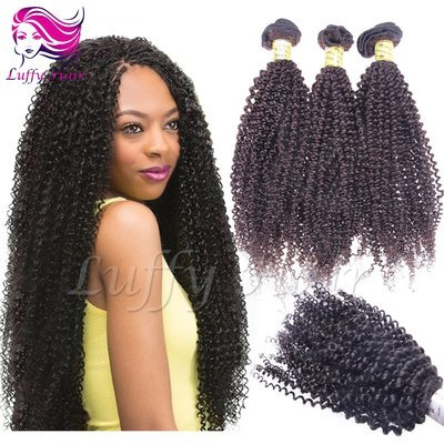 8A Virgin Human Hair Afro Hair Bundle - KEL003