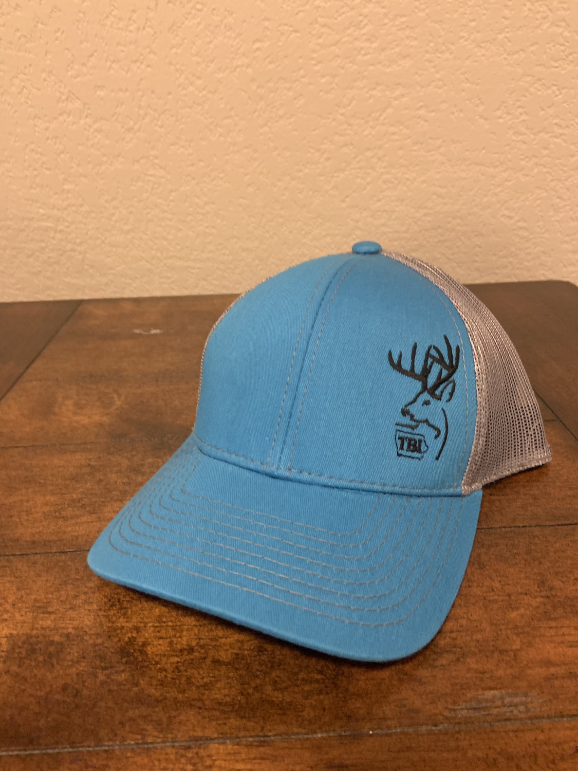 Blue/Black TBI Hat