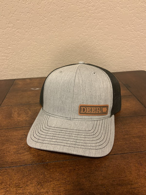 Gray DEER Patch hat