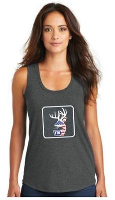 TBI Stars and Stripes Ladies Tank