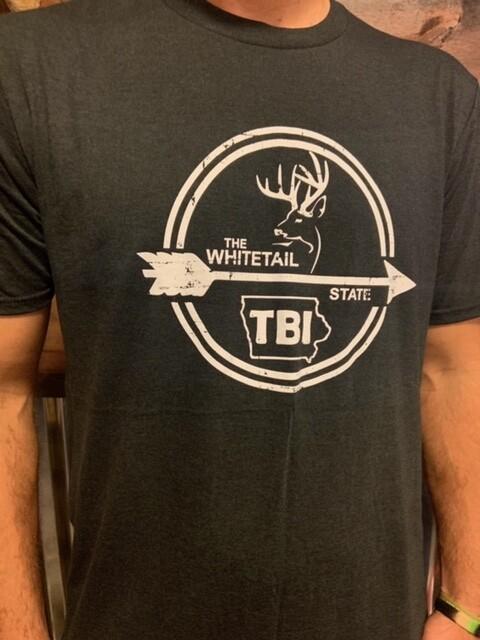 Whitetail State - Black / White