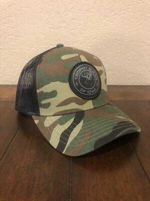 Camo / Black Patch Hat